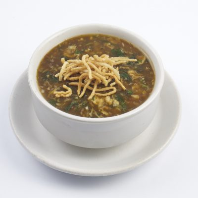 16.chicken manchow soup